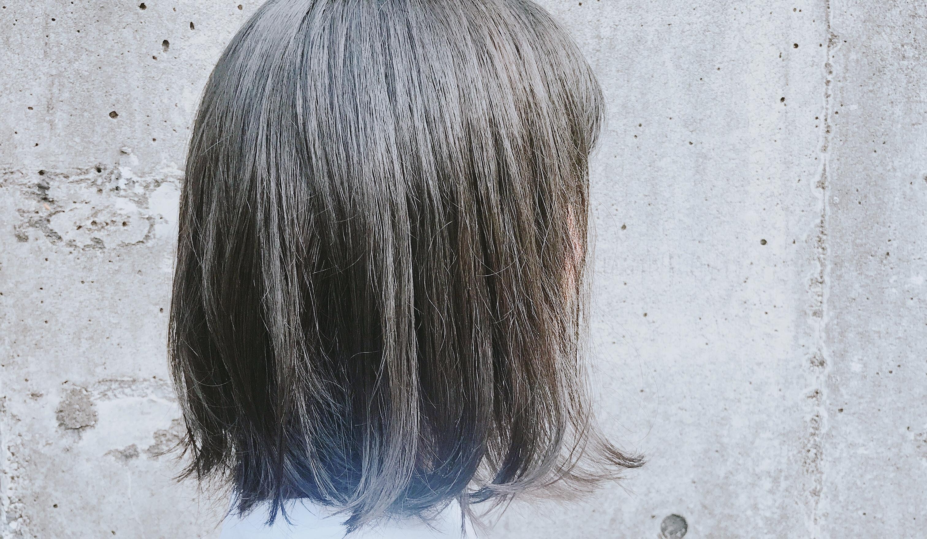 皆んなが好きな暗いけど透明感のある髪色の正体。