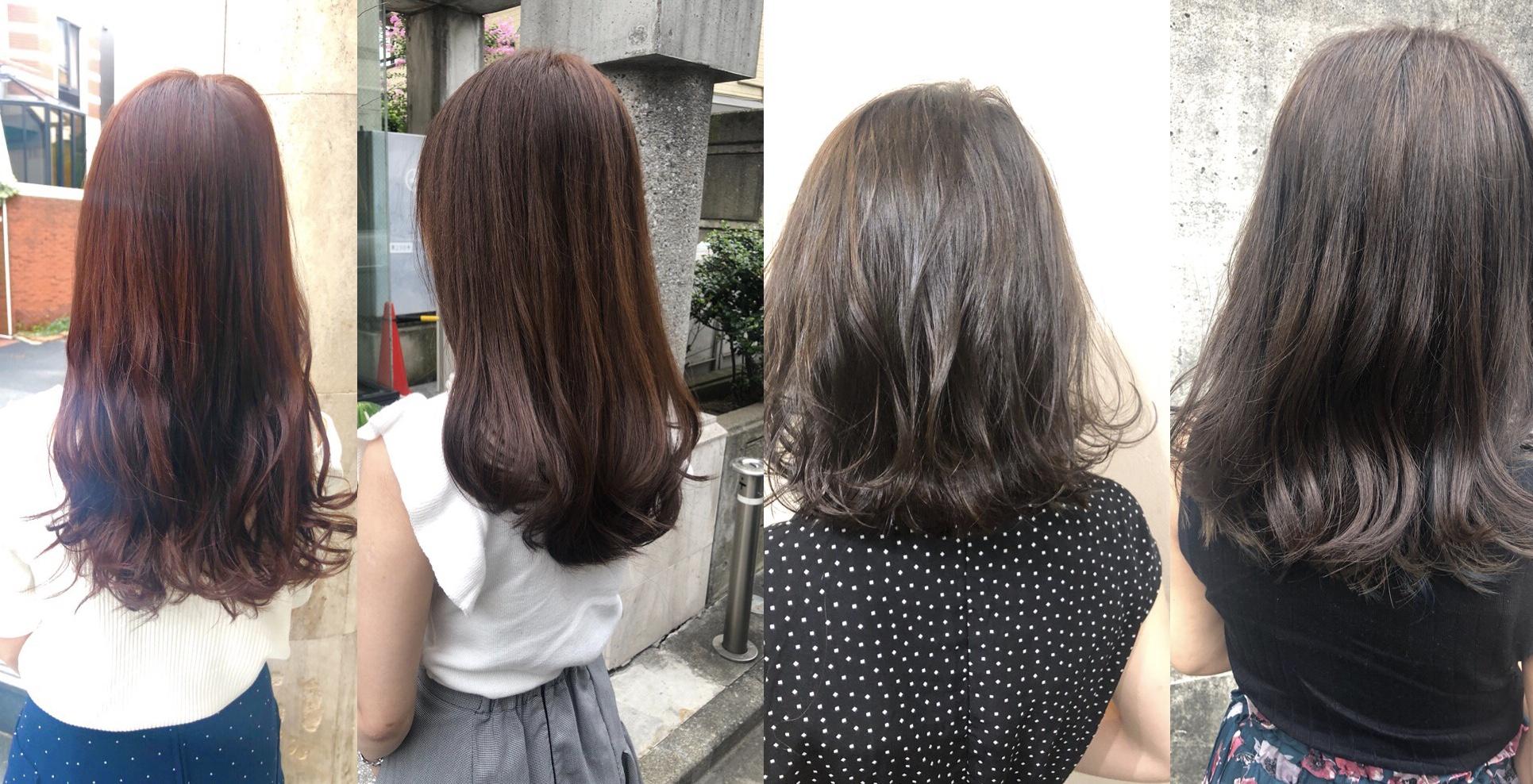 毛先だけすぐに色が抜ける..色落ちに悩む方に知ってもらいたいポイント。