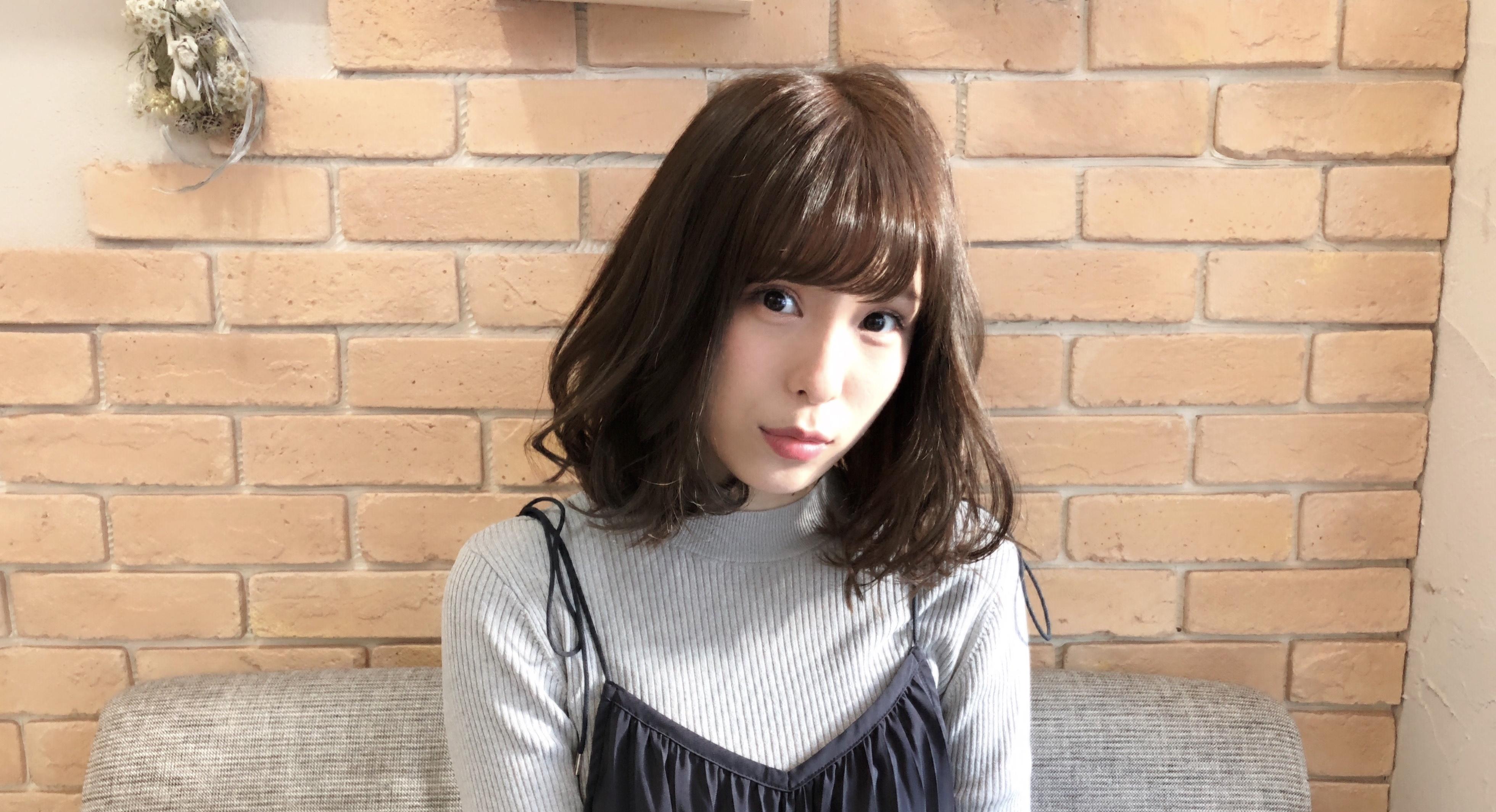 AKB48小嶋菜月さんの髪色。