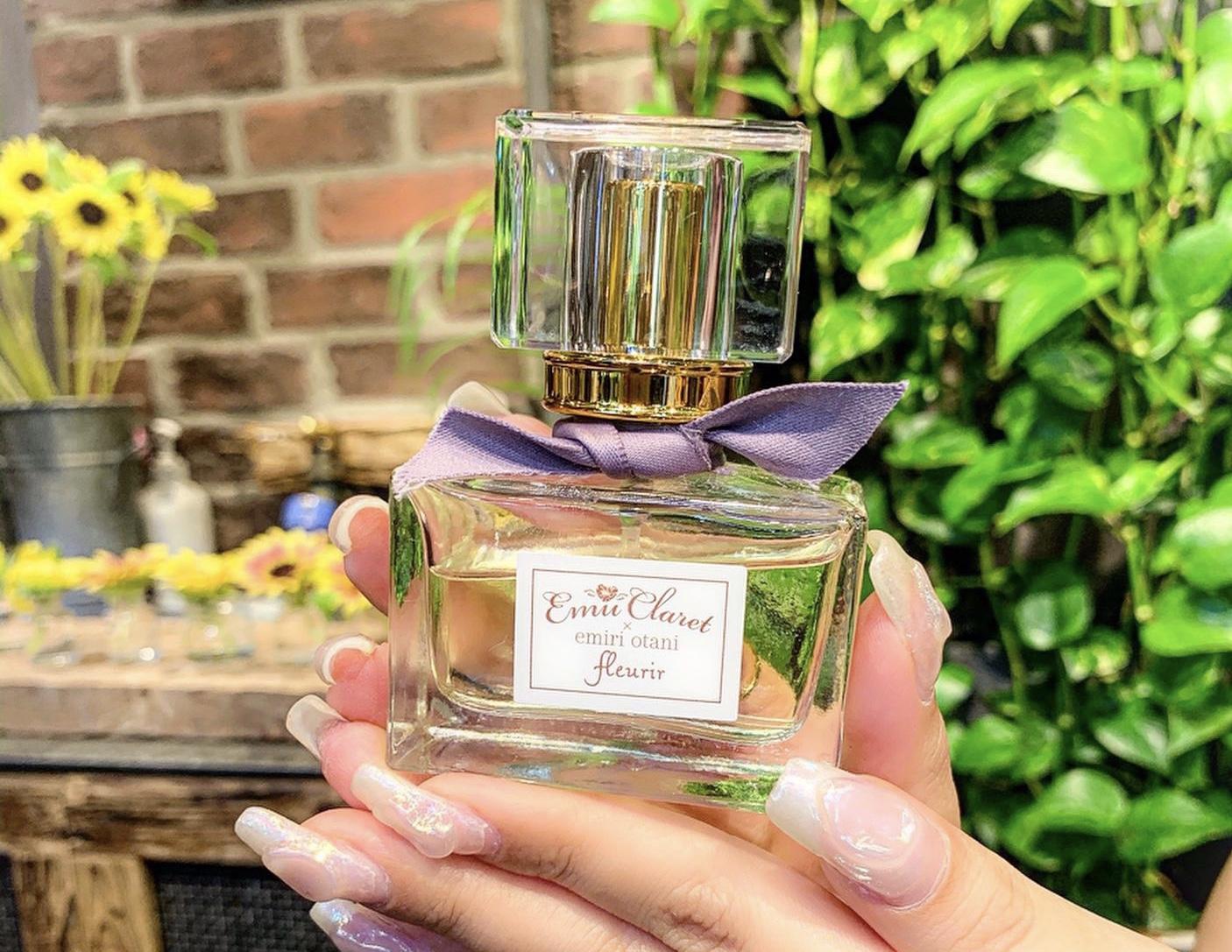 大谷映美里さんとのコラボ香水