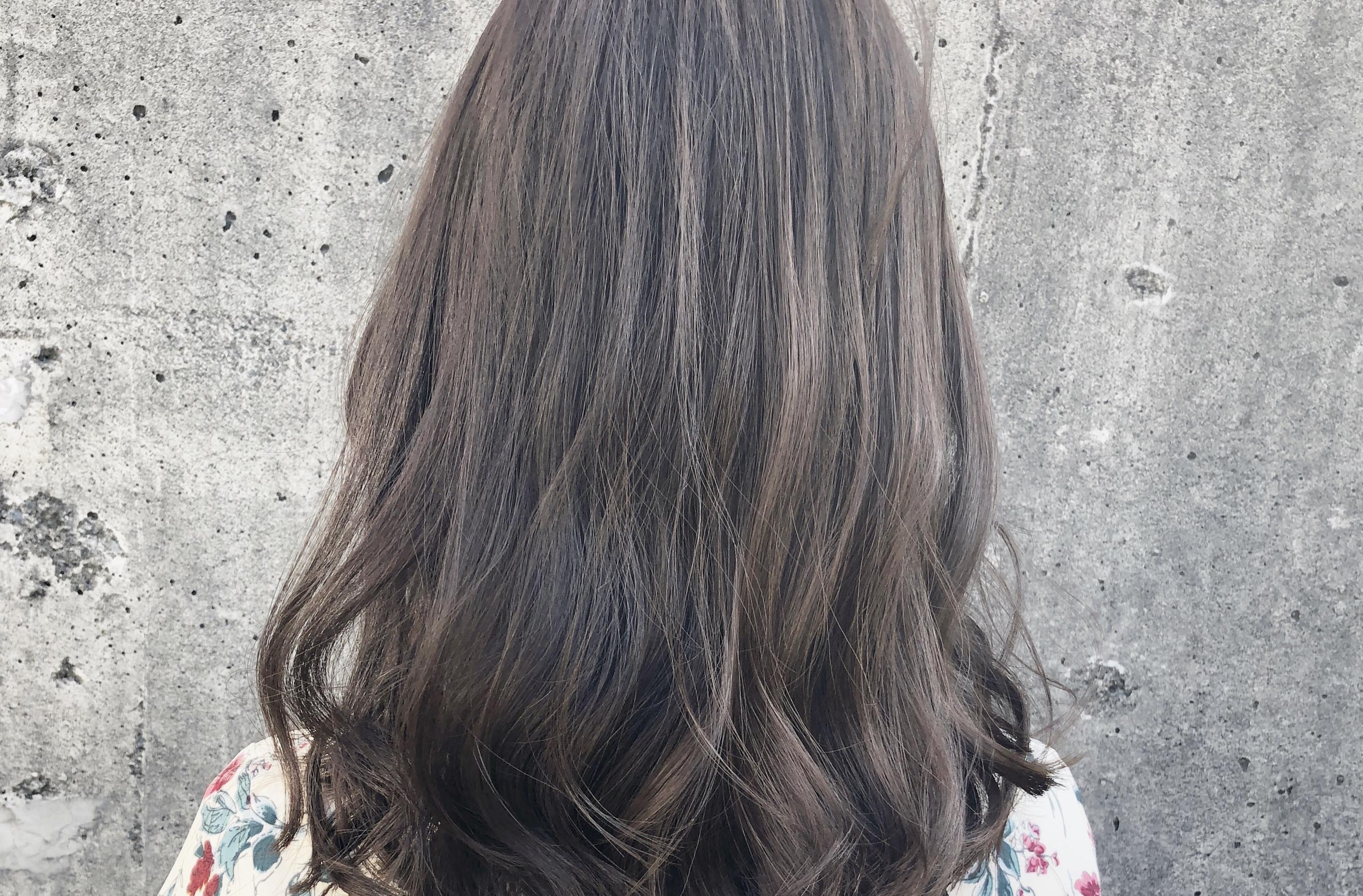 ブリーチ毛から暗くする場合もオーガニックカラーが一番。