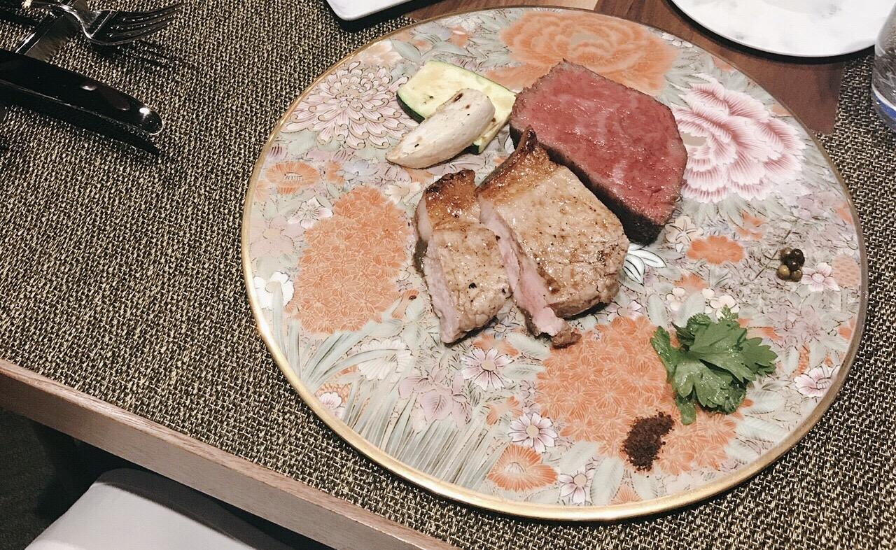 GINZA SIXでガチの熟成肉を食べて見た