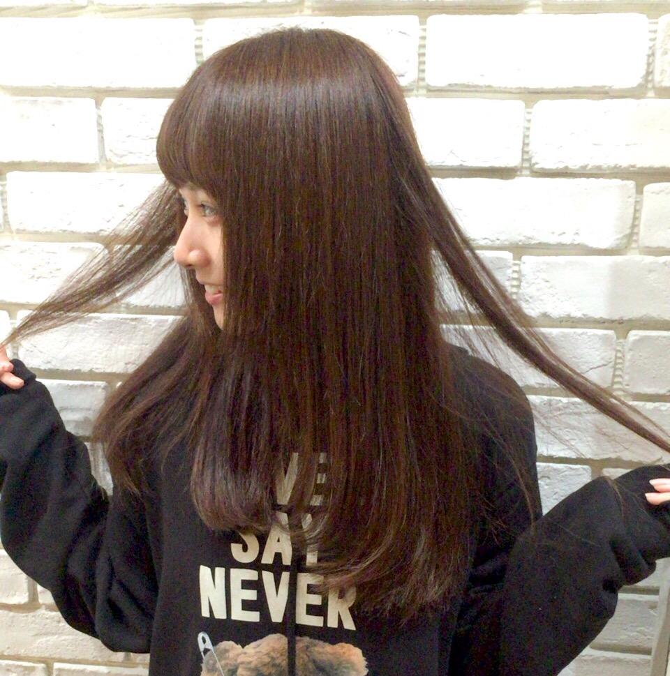 武田紗季さんのほんのり明るくカラー。